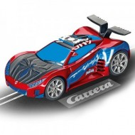 Circuit electric masinute Spiderman si Goblin Spider Racers Carrera Go 3,6 m