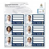 Etichete caiet FC Real Madrid 2017 18 buc