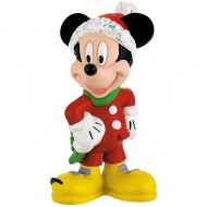 Figurina Mickey Mouse Craciun Mickey si Minnie Mouse Bullyland