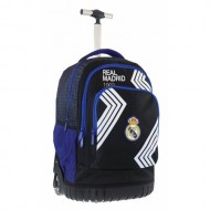 Ghiozdan troler ergonomic Real Madrid 47 cm