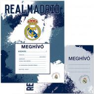 Invitatii pentru petrecere Real Madrid 10 bucati