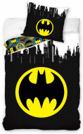 Lenjerie pat 2 piese Batman 160x200 cm BAT191050