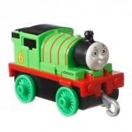 Locomotiva metalica Percy Thomas si Prietenii