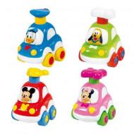 Masinuta apasa si merge 4 variante Disney Baby Mickey si Minnie Mouse