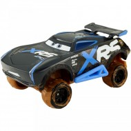 Masinuta metalica Jackson Storm cu suspensii Cars Mud Racing