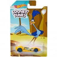Masinuta metalica Road Runner Looney Tunes Hot Wheels