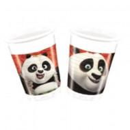 Pahare de plastic pentru petrecere Kung Fu Panda