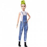 Papusa Barbie cu par verde Barbie Fashionistas