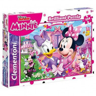 Puzzle Brilliant Minnie Mouse Clementoni 104 piese
