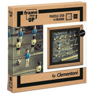 Puzzle cu ramă Fotbal de Masa Clementoni 250 piese