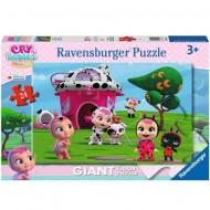 Puzzle de podea Cry Babies Ravensburger 24 piese