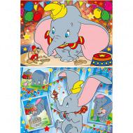 Puzzle Dumbo Clementoni 2x20 piese