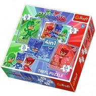 Puzzle Eroi in Pijama 4 in 1