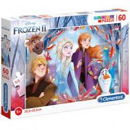 Puzzle Frozen 2 Clementoni 60 piese