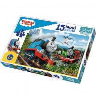 Puzzle Maxi Thomas si Prietenii Trefl 15 piese
