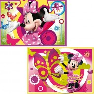Puzzle Minnie Mouse 2 x 24 Ravensburger