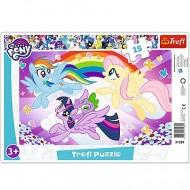 Puzzle My Little Pony: Aventura Curcubeu 15 piese