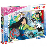Puzzle Printesele Disney Mulan Clementoni 104 piese