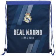Sac de umar cu snur Real Madrid albastru