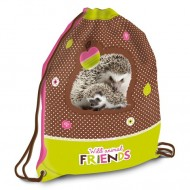 Sac de umar cu snur Wild Animal Friends