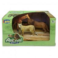 Set 3 figurine Animale Salbatice Animal World 621055