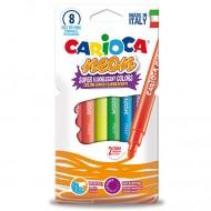 Set 8 carioci neon