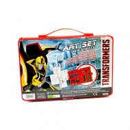 Set creativ de culori si acuarele Art Set Transformers
