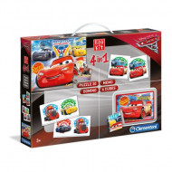 Set de joaca 4 in 1 Cars 3