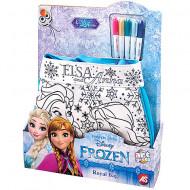 Set geanta de umar cu 5 carioci Elsa si Ana Frozen