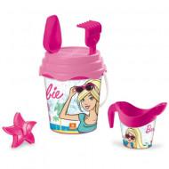Set jucarii pentru nisip Barbie 6 piese Mondo Toys