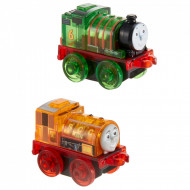 Set locomotive Percy si Ben cu lumini Thomas&Friends Minis