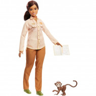 Set papusa Barbie zoolog Barbie National Geographic