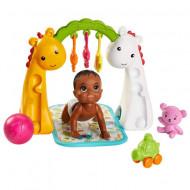 Set papusa bebelus Barbie brunet si accesorii Barbie Skipper Babysitters