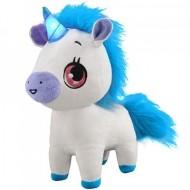 Unicorn de plus interactiv Wish Me albastru 23 cm