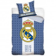 Lenjerie pat FC Real Madrid 160x200 cm