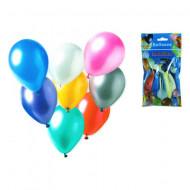 Baloane de petrecere colorate metal 8 bucati