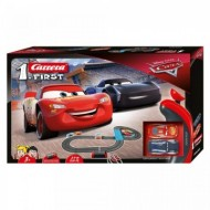 Circuit electric masinute Fulger McQueen si Jackson Storm Cars 3 Carrera First 2,9 m