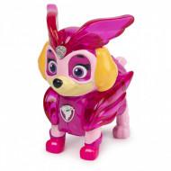 Figurina cu lumini Skye Patrula Catelusilor Mighty Pups Charged Up