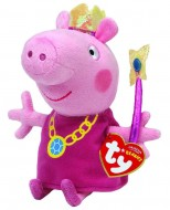 Figurina de plus Peppa Zana Purcelusa Peppa 20 cm