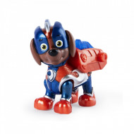 Figurina mecanica Zuma Mighty Pups Super Paws Patrula Catelusilor