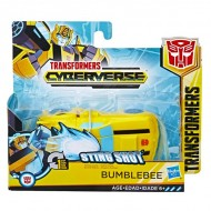 Figurina robot Bumblebee 1-Step Changer Sting Shot Transformers Cyberverse