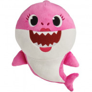 Jucarie de plus muzicala Mommy Shark Baby Shark 25 cm