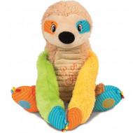 Lenes zornaitoare de plus cu sunete Hugs & Laughs Sloth