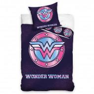 Lenjerie pat 2 piese Wonder Woman 160x200 cm WW191051