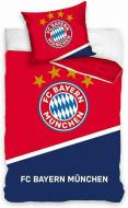 Lenjerie pat FC Bayern Munchen 160x200 cm BMFC201001