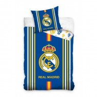 Lenjerie pat FC Real Madrid 160x200 cm RM182028
