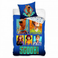 Lenjerie pat Scooby Doo 160x200 cm SD202005