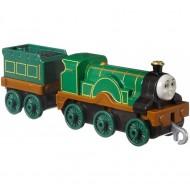 Locomotiva metalica Emily cu vagon Thomas si Prietenii