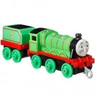 Locomotiva metalica Henry cu vagon Thomas si Prietenii