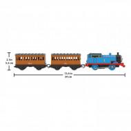 Locomotiva motorizata Thomas cu vagoane Annie si Clarabel Thomas si Prietenii Track Master